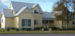Camperdown Attic style dormers pitched roof built by Farm Houses of Australia