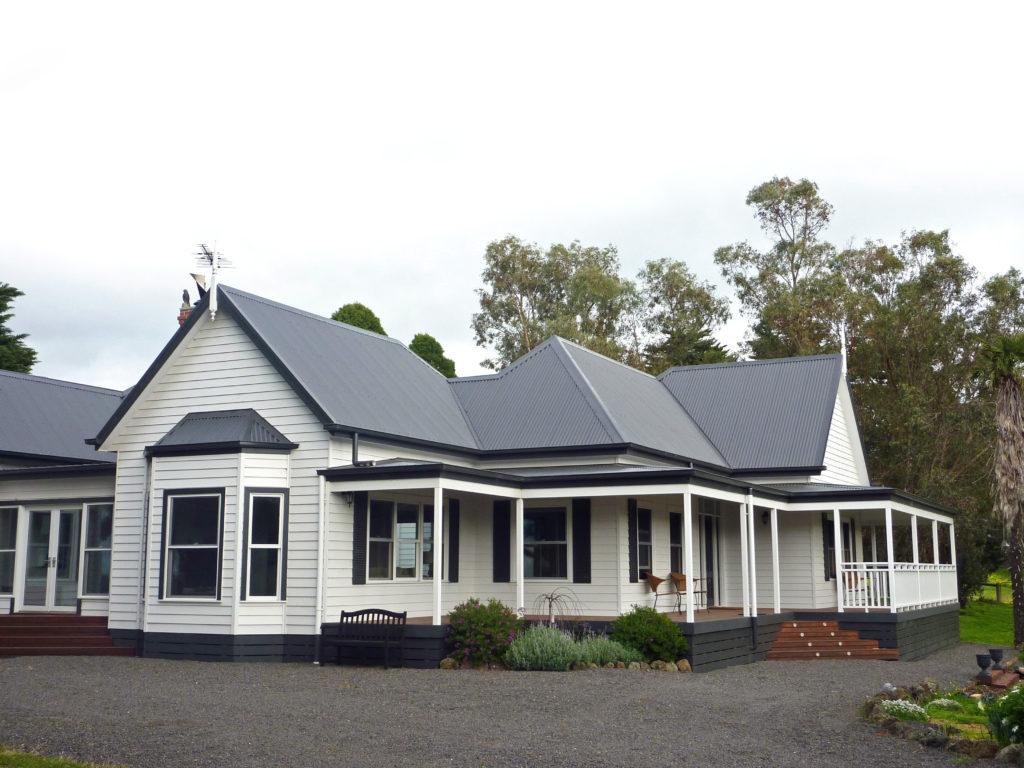 Kilmurray - traditional ranch style homestead built by Farm Houses of Australia