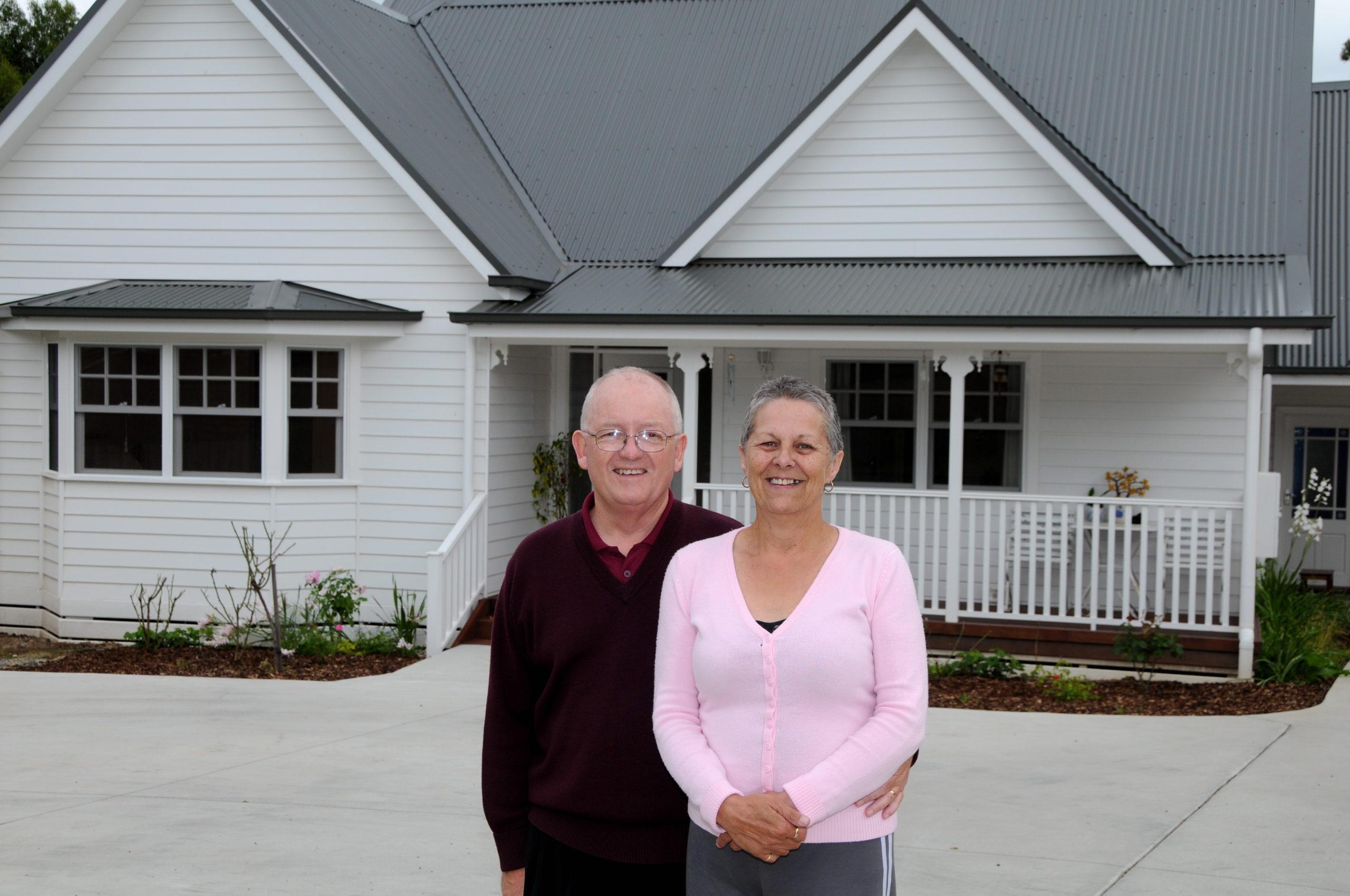 Korumburra - Fred and Margaret built by Farm Houses of Australia