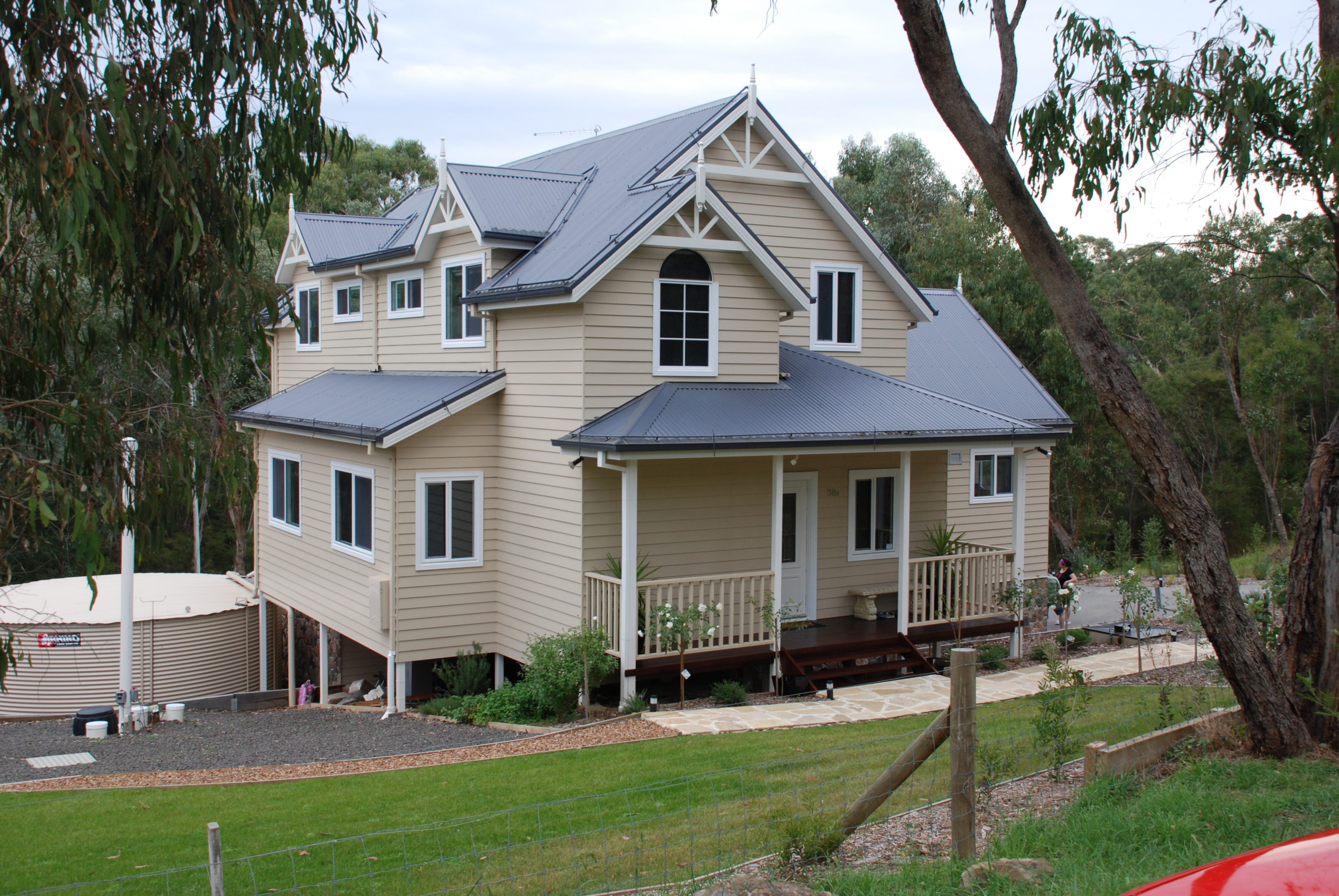 Warrandyte - American Style home country home rural property built by Farm Houses of Australia